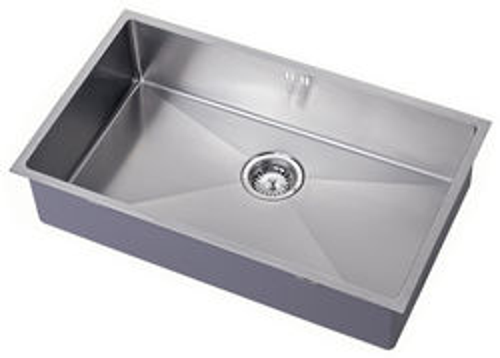 1810 Undermounted Kitchen Sink With Plumbing Kit (Satin, 700x400mm).
