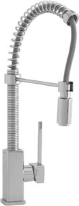Astracast Single Lever Nordic 704 Professional kitchen tap, pull out rinser.