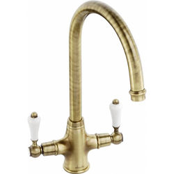 Abode Ludlow Monobloc Kitchen Tap (Antique Bronze).