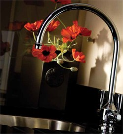 Abode Hargrave Kitchen Tap With Swivel Spout (Chrome).