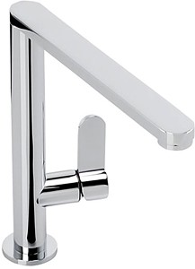 Abode Linear Monobloc Kitchen Tap With Swivel Spout (Chrome).