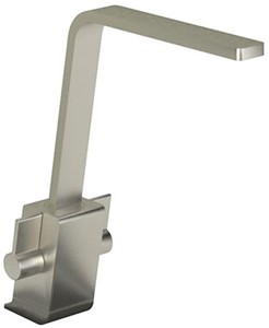 Abode Verso Monobloc Kitchen Tap With Swivel Spout (Brushed Nickel).