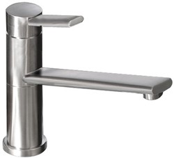 Abode Specto Kitchen Tap With Swivel Spout (Brushed Nickel).