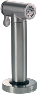 Abode Axell Pull Out Hand Spray Kitchen Rinser (Stainless Steel) AT1107.