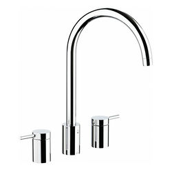 Abode Pronteau Profile Kitchen Tap, Boiling, Hot, Cold & Filtered (Chrome).