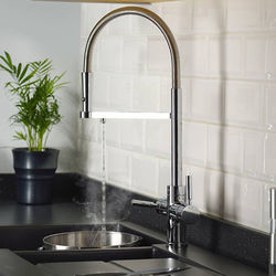Abode Pronteau 3 In 1 Professional Boiling Water Kitchen Tap (Chrome).