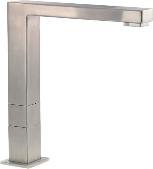 Abode Vixo Progressive Valve Monostem Kitchen Tap (Brushed Nickel).