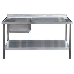 Acorn Thorn Catering Sink With RH Drainer & Legs 1000mm (Stainless Steel).