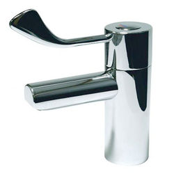 """Acorn Thorn TMV3 Thermostatic Basin Mixer Tap With 3"""" Lever Handle."""