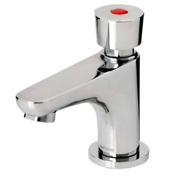 Acorn Thorn Soft Touch Self Closing Basin Tap (Single, Chrome).