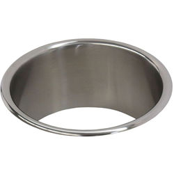 Acorn Thorn Countertop Waste Chute (230mm, Stainless Steel).