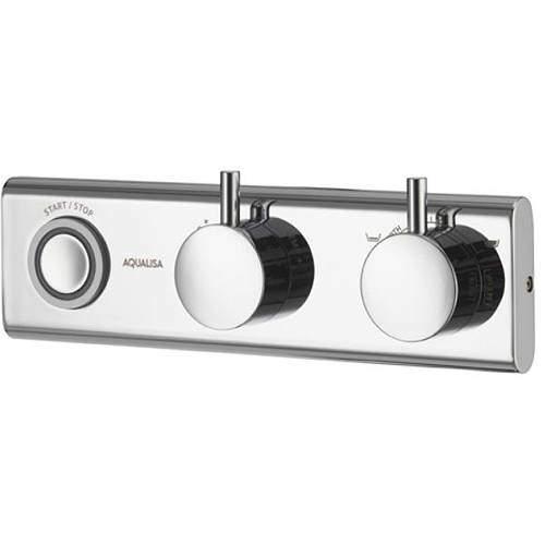 Aqualisa HiQu Digital Smart Bath Filler Valve With LED Light (HP, Combi).