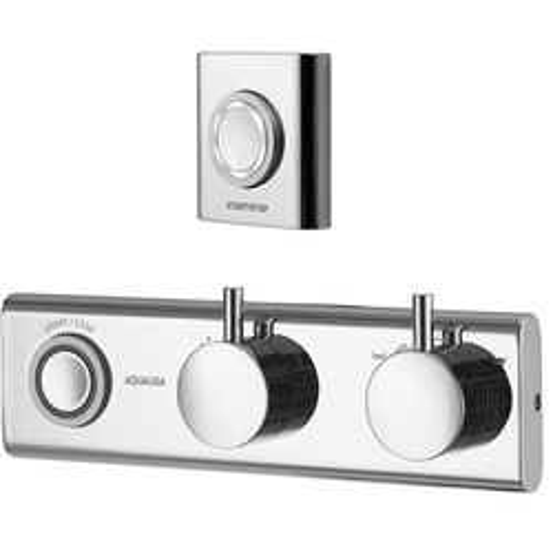 Aqualisa HiQu Digital Bath Filler / Hand Shower Valve & Remote (Gravity).
