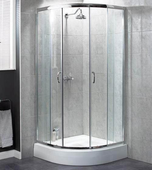 Aqualux Shine Quadrant 6 Shower Enclosure 900mm 1161215.