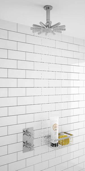 Bristan Cascade Thermostatic Bathroom Shower Pack (Chrome).