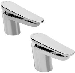 Bristan Claret Mono Basin & Bath Filler Taps Pack (Chrome).
