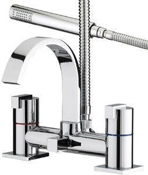 Bristan Chill Deck Bath Shower Mixer.