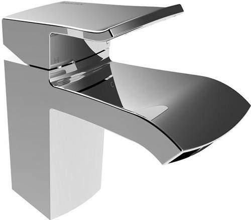 Bristan Descent Mono Basin Mixer Tap (Chrome).