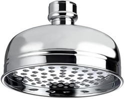 Bristan 1901 Traditional 145mm Round Fixed Shower Head (Chrome).