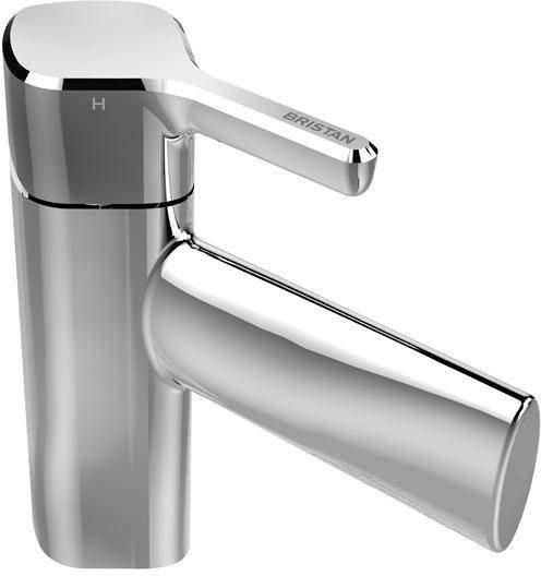 Bristan Flute Mono Basin Mixer Tap (Chrome).