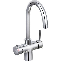 Bristan Rapid 3 In 1 Instant Boiling Water Kitchen Tap (Chrome).