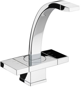 Damixa G-Type Mono Basin Mixer Tap With Pop Up Click Waste (Chrome) 72820.