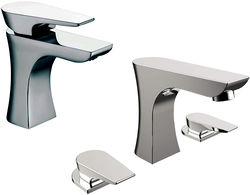 Bristan Hourglass Mono Basin & 3 Hole Bath Filler Taps Pack (Chrome).