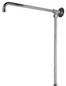 Bristan 1901 Fixed Rigid Riser Rail, Chrome Plated.