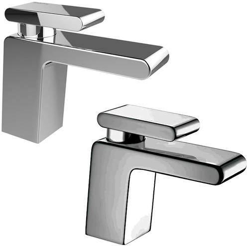 Bristan Pivot Basin & 1 Hole Bath Filler Taps Pack (Chrome).