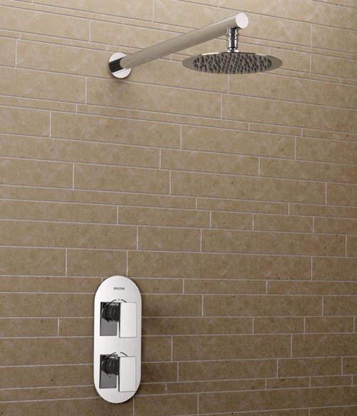 Bristan Sail Thermostatic Bathroom Shower Pack (Chrome).