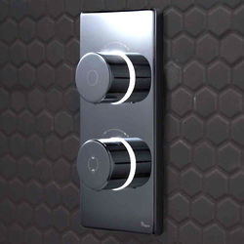 Digital Showers Digital Shower / Bath Valve & Processor (2 Outlets, HP).