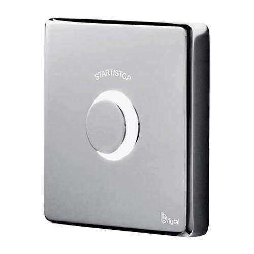 Digital Showers Digital Shower Contemporary Remote Control (Chrome).