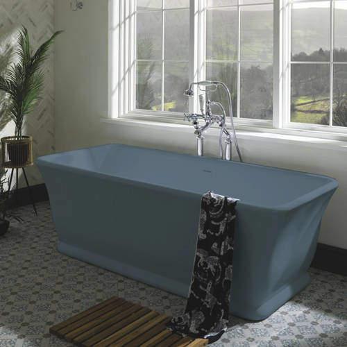 BC Designs Magnus ColourKast Bath 1680mm (Powder Blue).