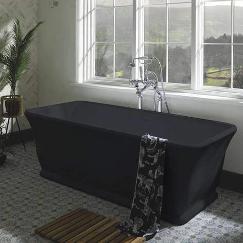 BC Designs Magnus ColourKast Bath 1680mm (Gunmetal).