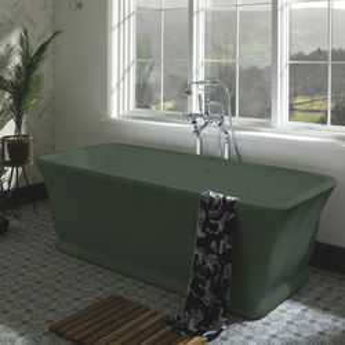 BC Designs Magnus ColourKast Bath 1680mm (Khaki Green).