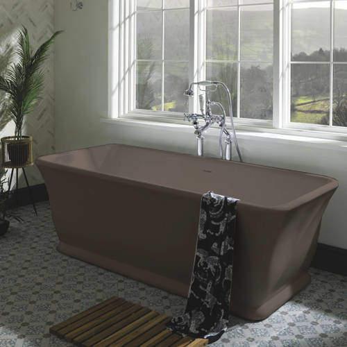 BC Designs Magnus ColourKast Bath 1680mm (Mushroom).