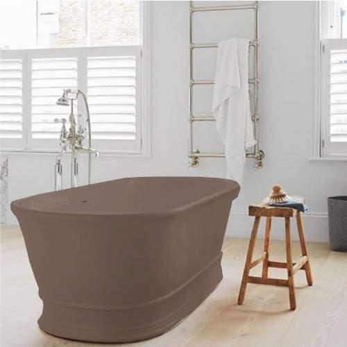 BC Designs Aurelius ColourKast Bath 1740mm (Mushroom).