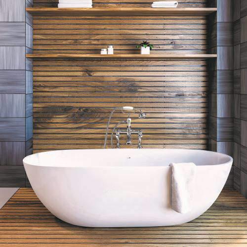BC Designs Crea Bath 1665mm (Polished White).
