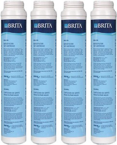 Brita Filter Taps 4 x Filter Cartridges for Rosedale, Titanium & Solo Taps Only.