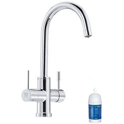 Brita Filter Taps Talori 3 In 1 Filter Kitchen Tap With LED Lights (Chrome).