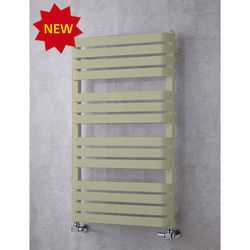 COLOUR Heated Towel Rail & Wall Brackets 1110x500 (Pebble Grey).