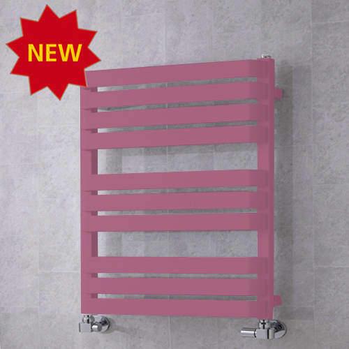 COLOUR Heated Towel Rail & Wall Brackets 785x500 (Heather Violet).