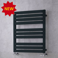 COLOUR Heated Towel Rail & Wall Brackets 785x500 (Anthracite Grey).
