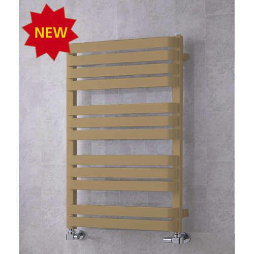 COLOUR Heated Towel Rail & Wall Brackets 915x500 (Grey Beige).