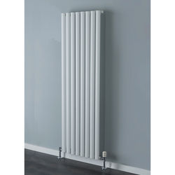 COLOUR Tallis Single Vertical Radiator 1820x600mm (White).