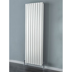 COLOUR Tallis Double Vertical Radiator 1820x600mm (White).