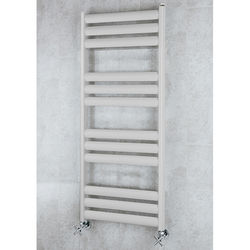 COLOUR Heated Ladder Rail & Wall Brackets 1060x500 (Light Grey).