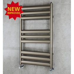 COLOUR Heated Ladder Rail & Wall Brackets 780x500 (Platinum).