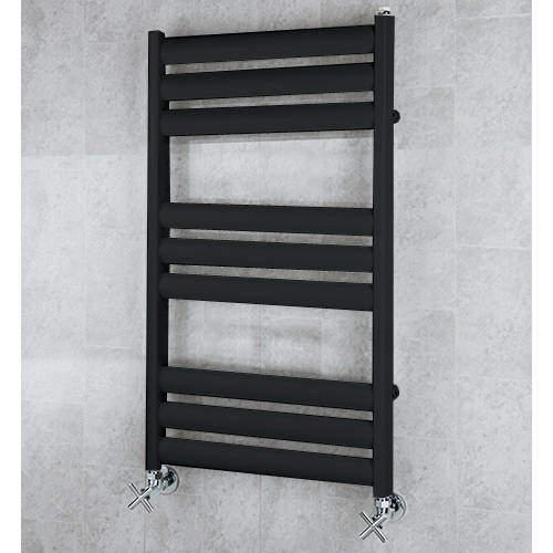 COLOUR Heated Ladder Rail & Wall Brackets 780x500 (Jet Black).