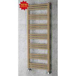 COLOUR Heated Ladder Rail & Wall Brackets 1374x500 (Grey Beige).